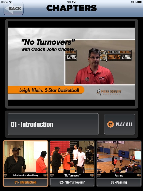 """ No Turnovers "" : A Championship Coaching Philosophy - With Coach John Chaney- Full Court Basketball Training Instruction - XL"
