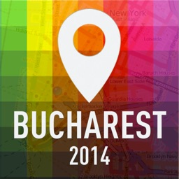 Offline Map Bucharest - Guide, Attractions and Transports