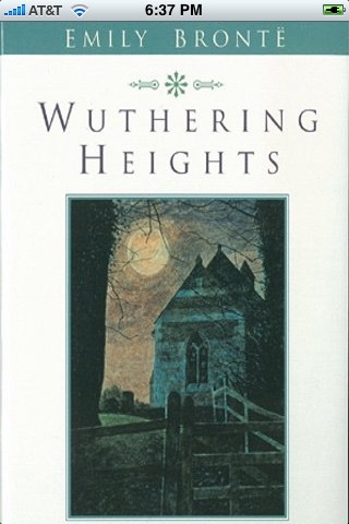 Wuthering Heights ( by Emily Bronte)