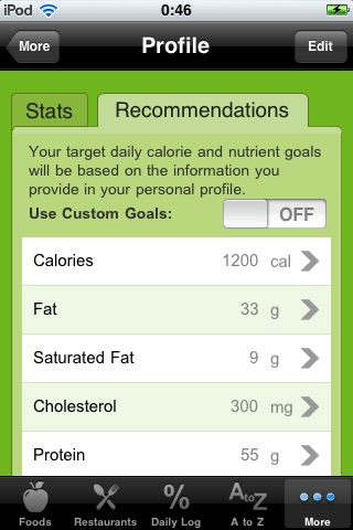 Your Complete Food Counter screenshot-3