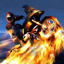 Action Motorcycle 3D Race: Motor-Bike Fury Simulator Racing Game Free