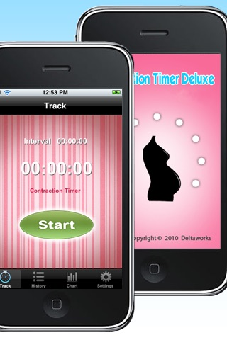 Contraction Timer Free screenshot-0