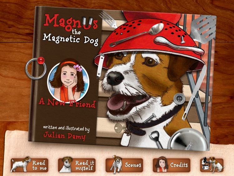 Magnus the Magnetic Dog