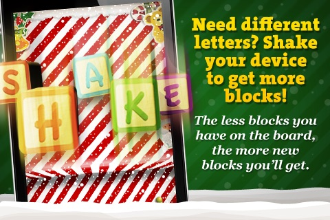 Letter Blocks 3D Christmas - Xmas Word Game with Vocabulary in 5 Languages screenshot-3