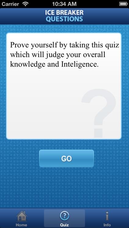 Ice Breaker Questions screenshot-3