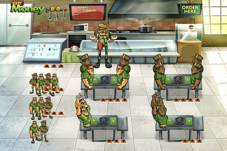 Army Cafeteria Lite screenshot-1