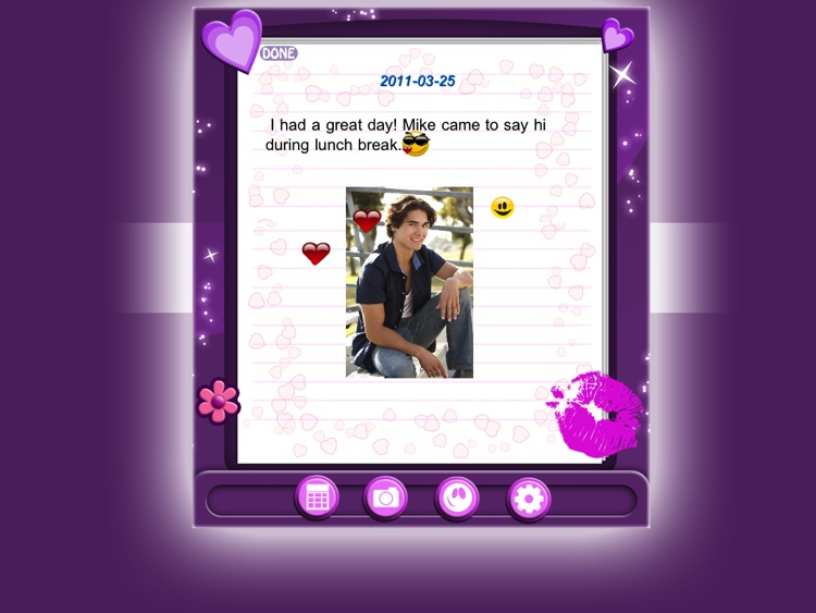 Amazing Secret Diary HD Lite screenshot-3
