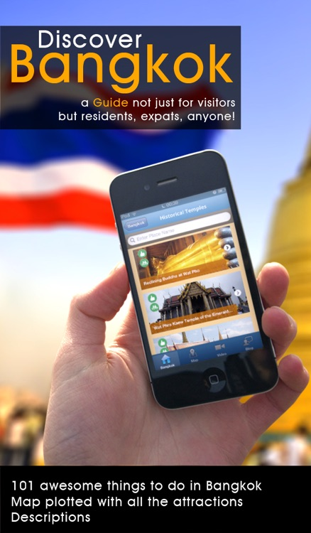 Bangkok Travel Guide - 101 Things to Do in Bangkok - Offline Map Tour Shopping Culture Food and More of Thailand