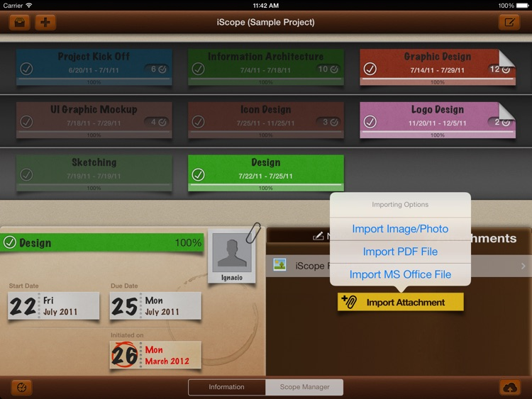iScope - Project Management 4 Humans screenshot-4