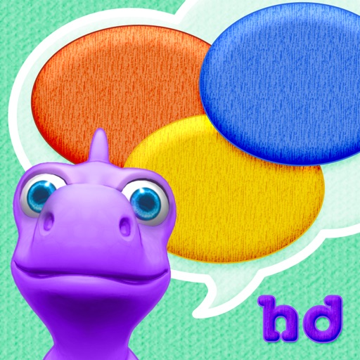 Colors with Dally Dino HD - Preschool Kids Learn Colors with A Fun Dinosaur Friend
