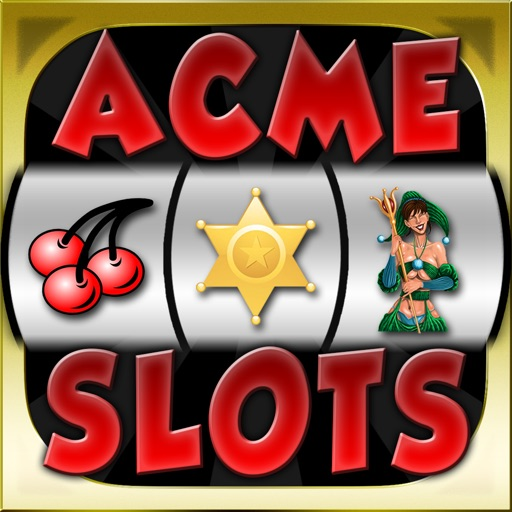 Acme Slots Machine Mega - Bonus Wheel and Multiple Paylines Edition Games