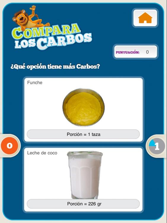 Contando Carbohidratos con Lenny for iPad screenshot-3