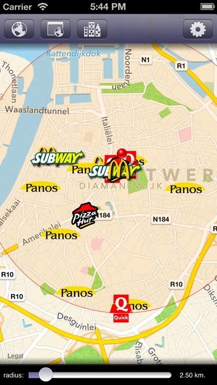 Zoek Fastfood Belgium