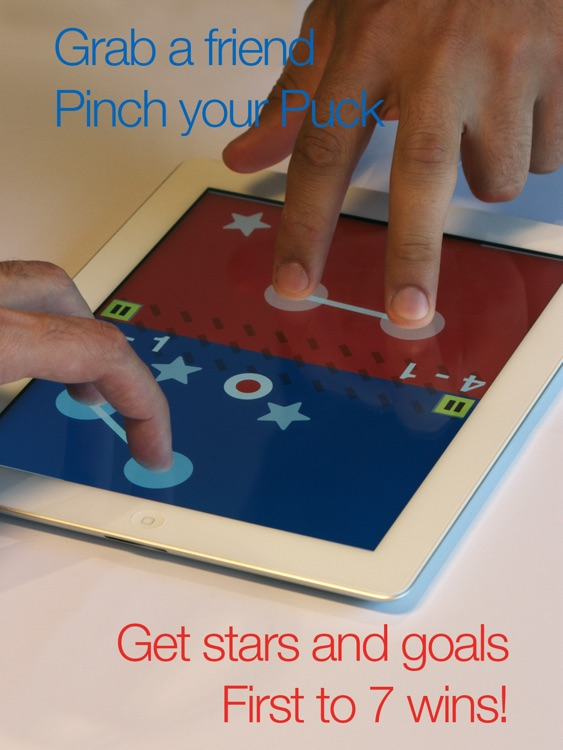Pinch Pong - Touch multiplayer air hockey for 2