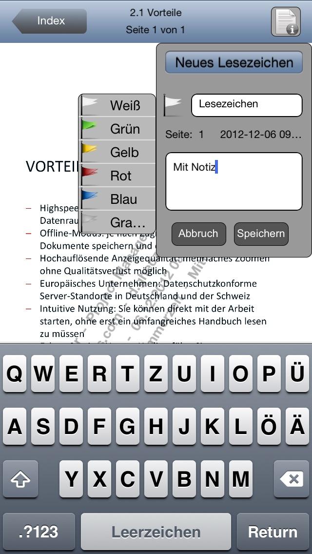 Drooms® für iPad und iPhoneScreenshot von 4