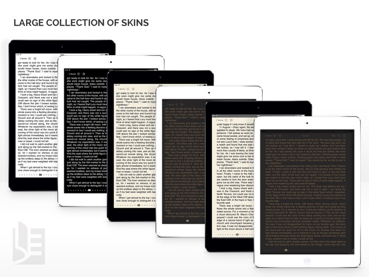 TotalReader for iPad - The BEST eBook reader for epub, fb2, pdf, djvu, mobi, rtf, txt, chm, cbz, cbr screenshot-4