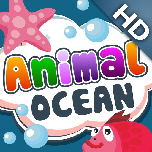 ABC Baby Ocean Animals Free - 3 in 1 Game for Preschool Kids - Learn Names of Marine Life icon