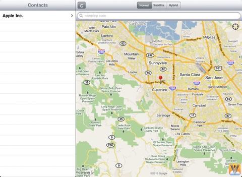 Contact GPS-ipad-3