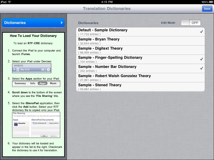 iStenoPad screenshot-4