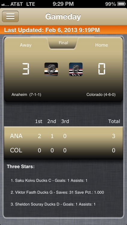 Anaheim Hockey Live screenshot-0