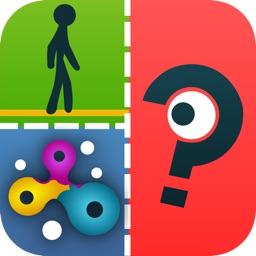 QuizCraze App Logos - Trivia Game Quiz