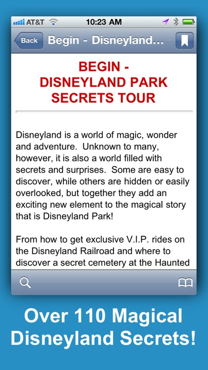 Disneyland Secrets Notescast screenshot-1