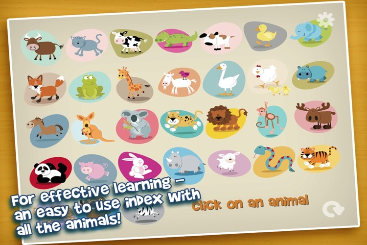 Picture Book of Animals - for kids and toddlers screenshot-3