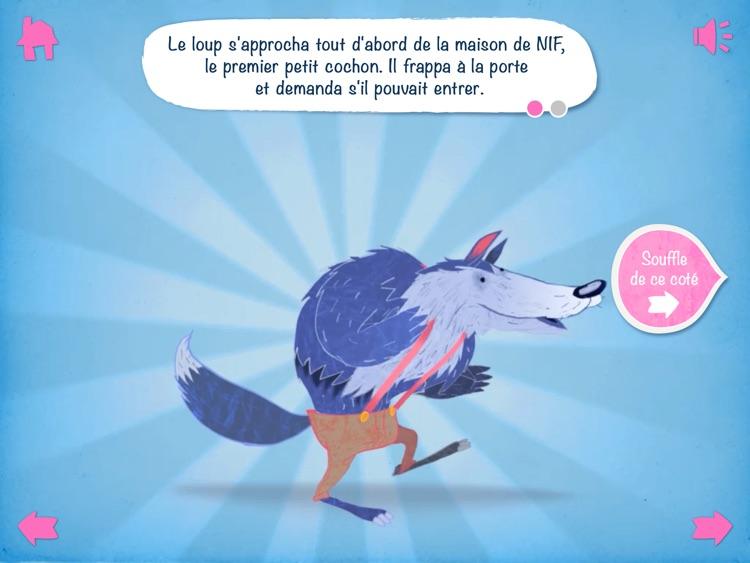 Les 3 petits cochons - Interactif screenshot-3