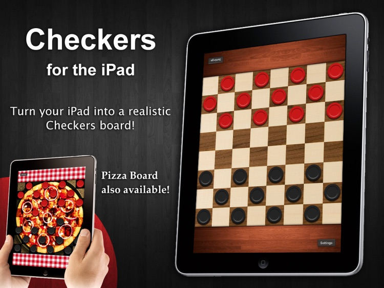 Checkers for iPad