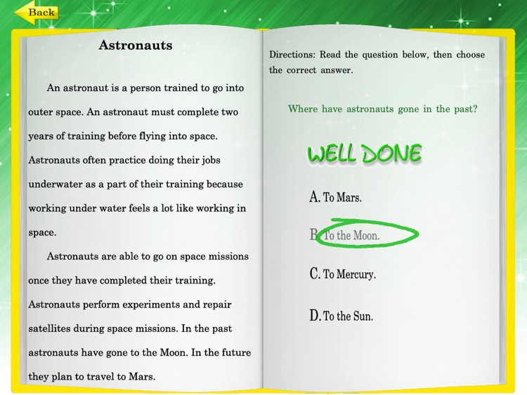 Kids Reading Comprehension 2 screenshot-3