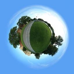Tiny Planet FX - Globe Photo