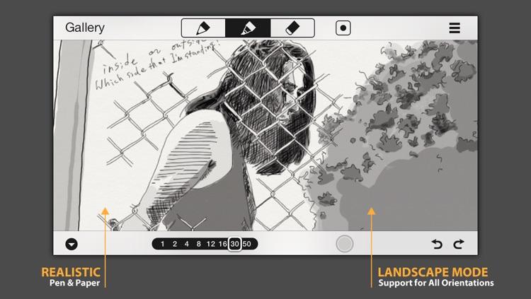 SketchTime - Quick Sketching & Photo Tracing screenshot-3