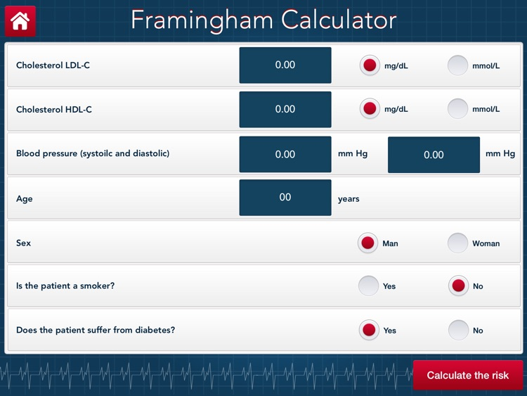 Framingham Calculator