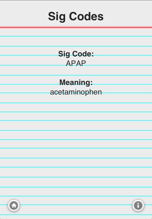 Sig Codes Quiz & Card
