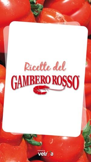 Ricette del gambero rosso su app store for Gambero rosso ricette