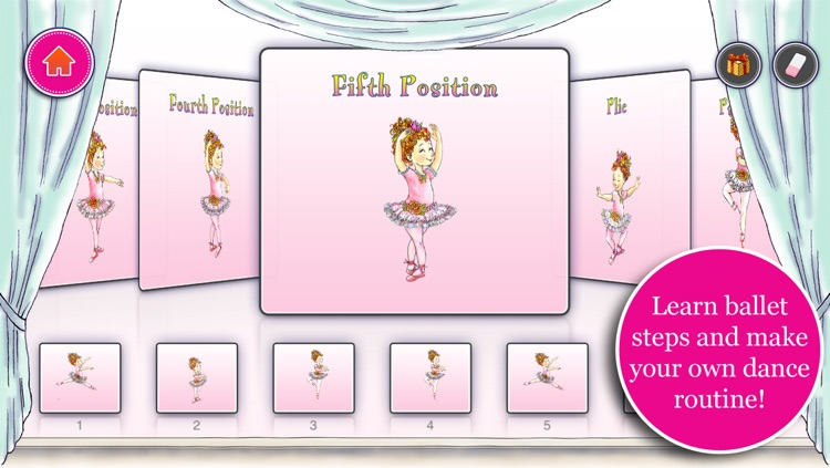 Fancy Nancy Ballet School screenshot-1
