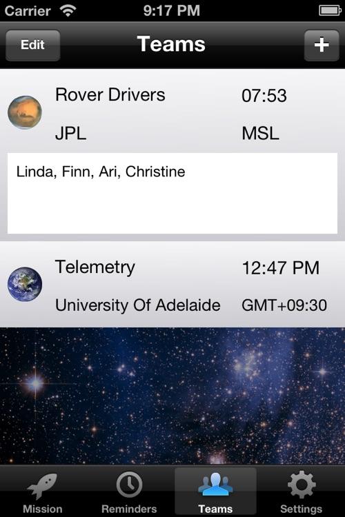Mars Mission Clock screenshot-4