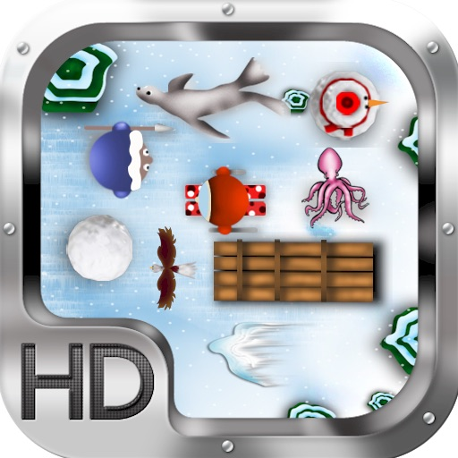 Penguin Snow Adventure Game HD