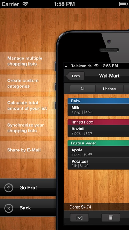 Shopping List Free (Grocery List) screenshot-4