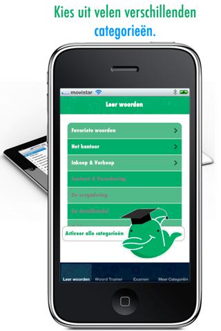 Zakelijke Franse Woorden Leren: Verbeter je Franse uitspraak en woordenschat - Gratis screenshot one