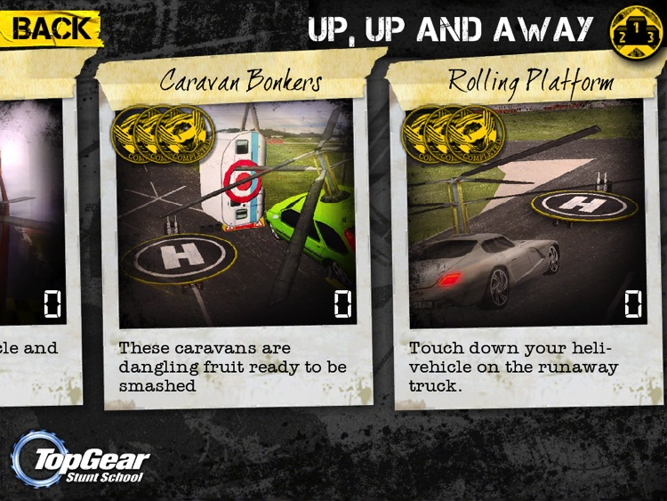 Top Gear: Stunt School HD screenshot-4