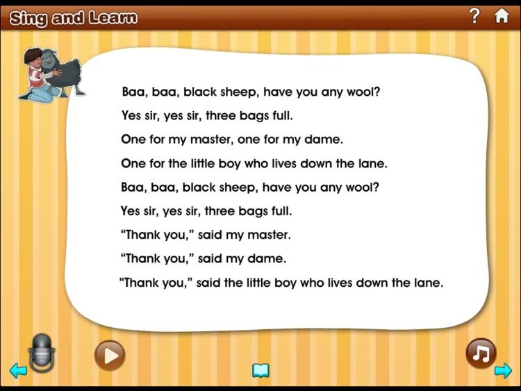 Sing and Learn Nursery Rhymes app screenshot-3