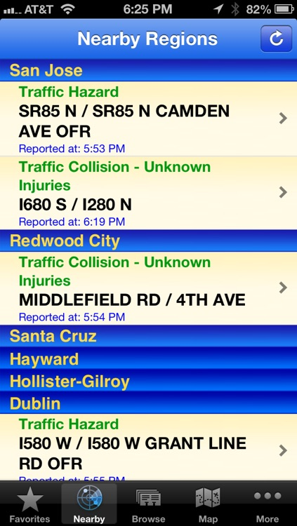 CHP Traffic screenshot-1