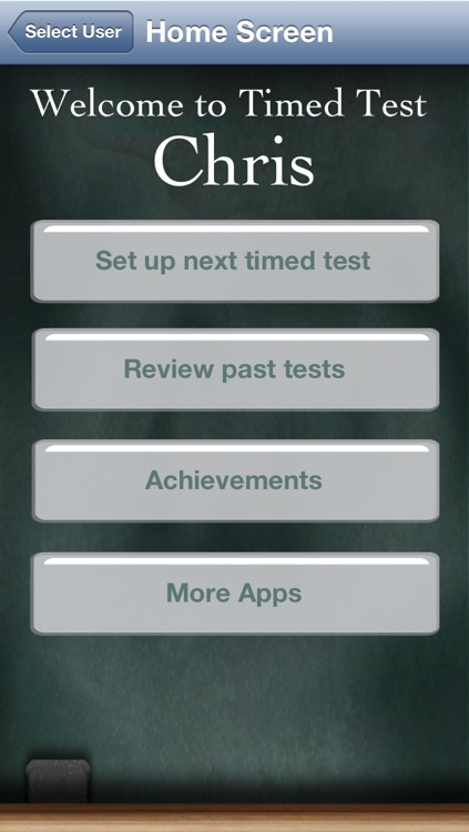 Timed Test for iPhone screenshot-4
