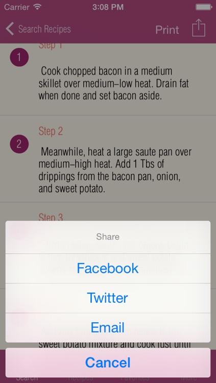 Healthy Paleo Recipes On-The-Go screenshot-4