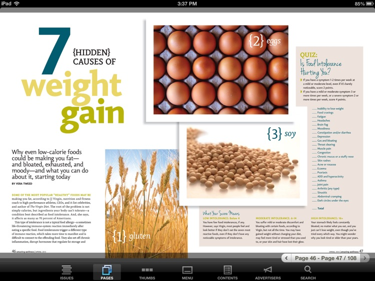 Amazing Wellness Magazine screenshot-4