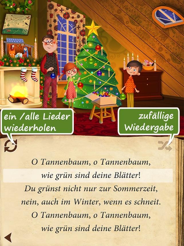 Weihnachtslieder HD | animiertes Liederbuch zum Mitsingen und ...