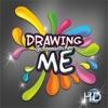 DrawingMe 2.0 free HD painting and coloring gam...