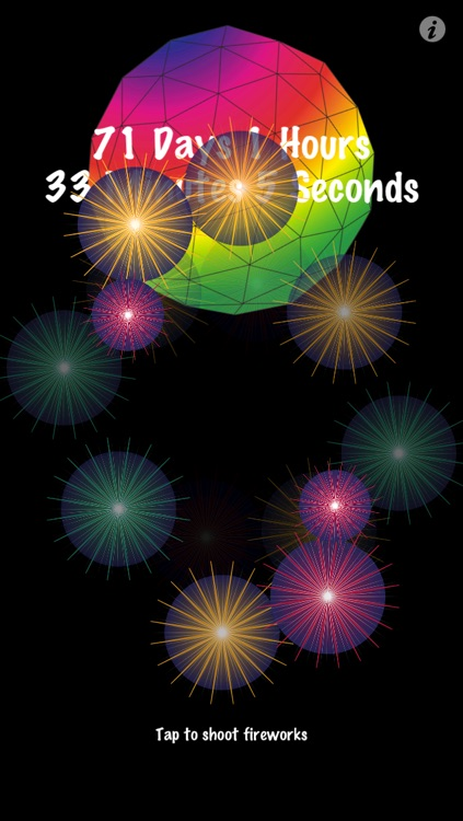 New Years Countdown Fireworks