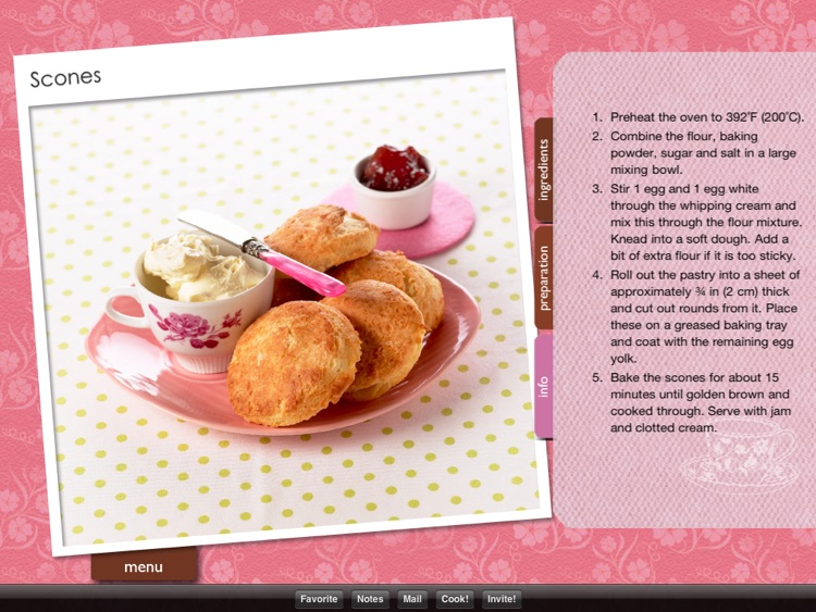 High Tea Recipes+ screenshot-3